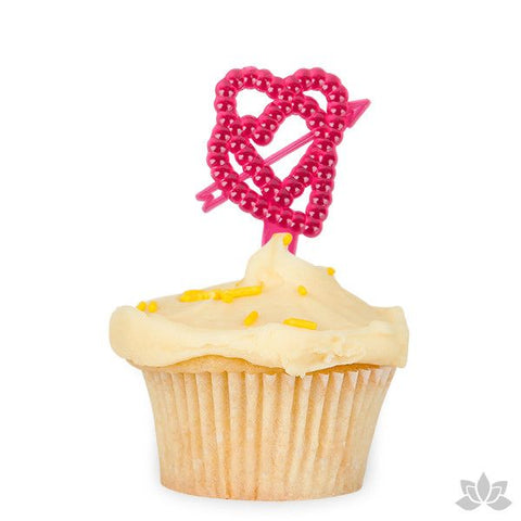 Valentine Cupcake Topper great for cake decorating your own Valentine cupcakes.