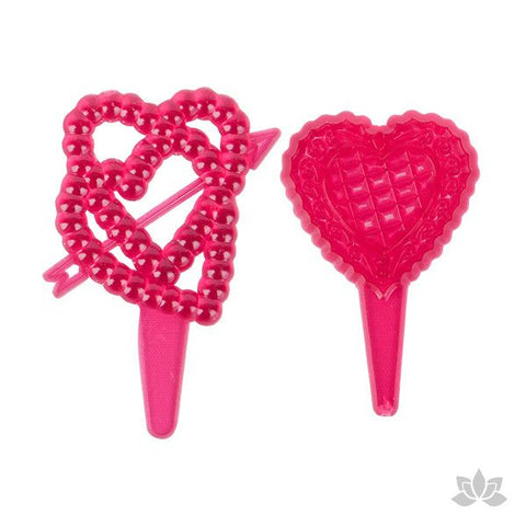 Valentine's Day Crystal Hearts