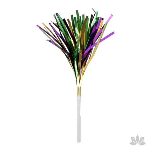 Mardi Gras Tinsel Picks