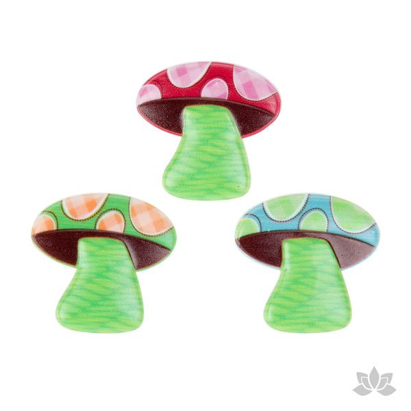 Mushrooms Cupcake Toppers