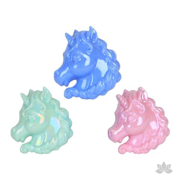 Unicorn shaped decorations for birthdays, bachelorette parties or girl's night out celebrations