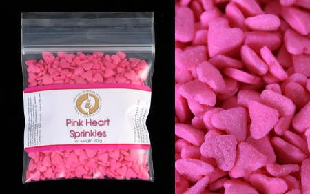 Pink Heart Spinkles