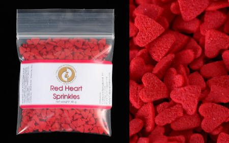 Red Heart Sprinkles