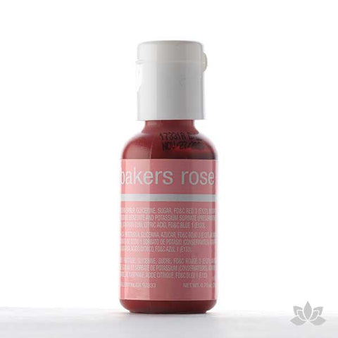 ChefMaster Liqua-Gel Color 0.70 oz - Baker's Rose