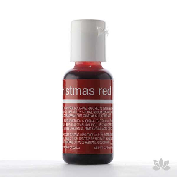 ChefMaster Liqua-Gel Color 0.70 oz - Christmas Red