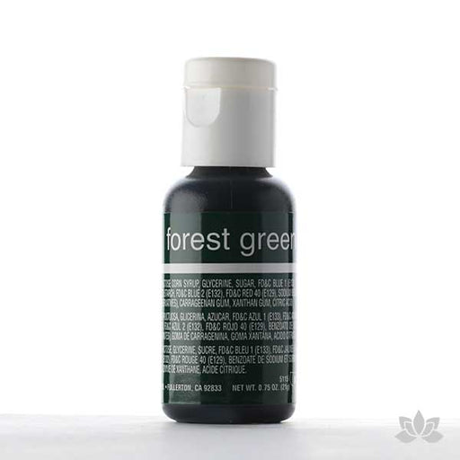 Chefmaster Liqua-Gel Color 0.70 oz - Forest Green
