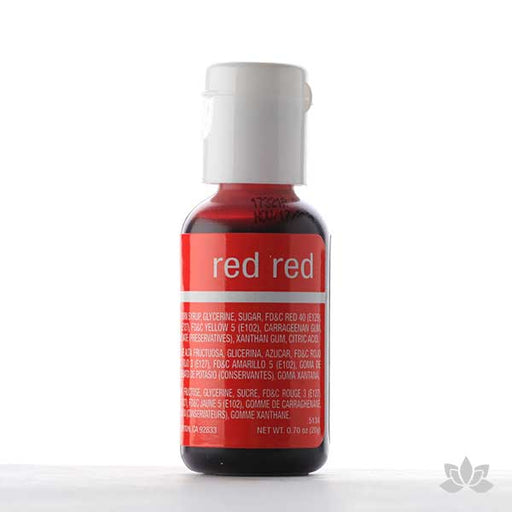ChefMaster Liqua-Gel Color 0.70 oz - Red Red