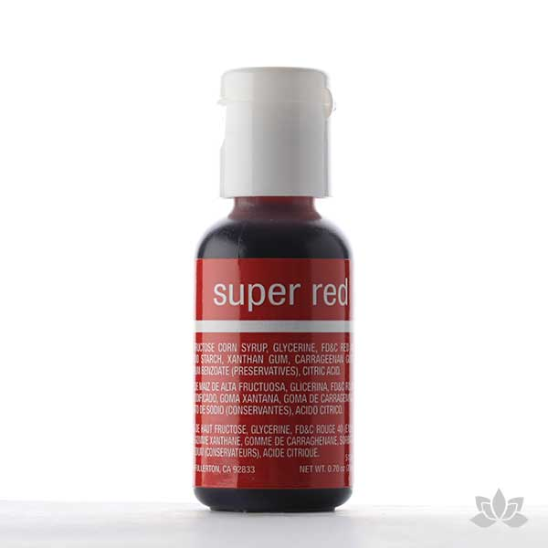 ChefMaster Liqua-Gel Color 0.70 oz - Super Red