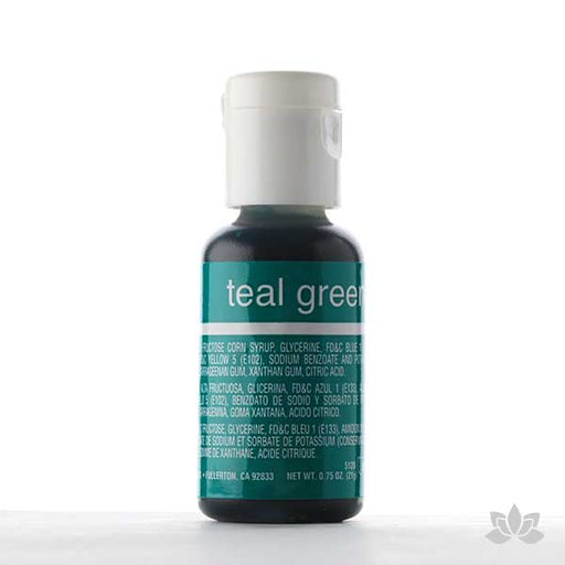 Chefmaster Liqua-Gel Color 0.70 oz - Teal