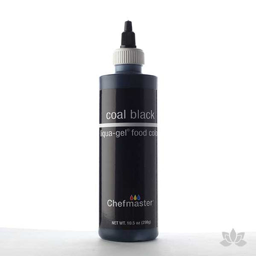 ChefMaster Liqua-Gel Color 10.5 oz - Coal Black