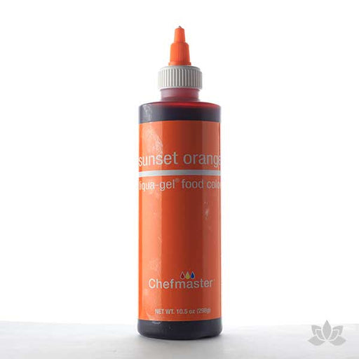 ChefMaster Liqua-Gel Color 10.5 oz - Sunset Orange