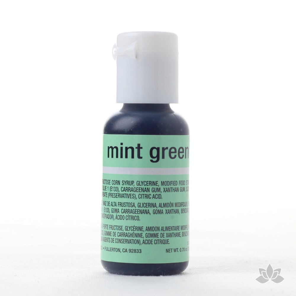 Mint Green Food Color Soft Gel great for adding color to your icings and other edible treats.