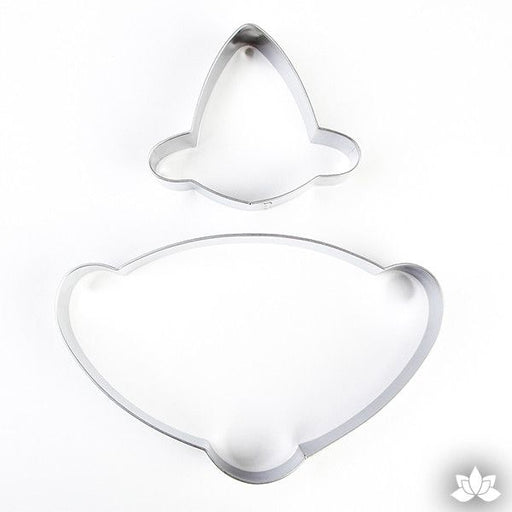 Easily cut out your molded fondant or create your own design using these Fondant Cutters.