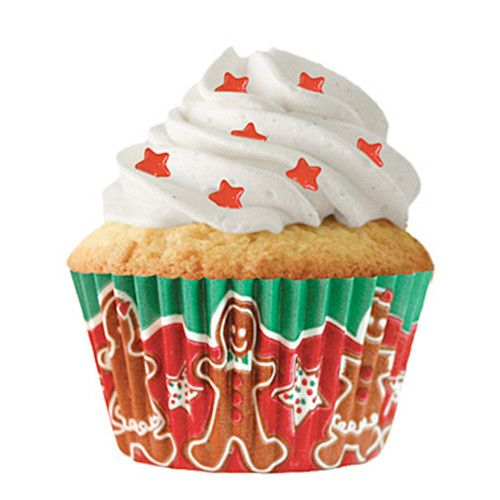 Gingerbread Kids Baking Cups