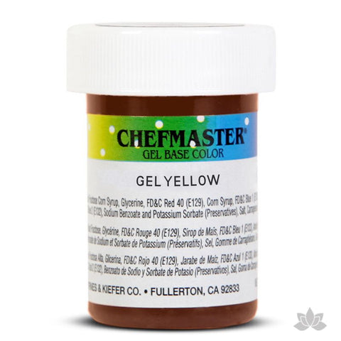 Chefmaster Gel Base Color - Yellow