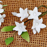 Gum paste sugar flower filler flower cake topper perfect for cake decorating your own wedding cake and birthday cake. Cake Decoration and cake supply.