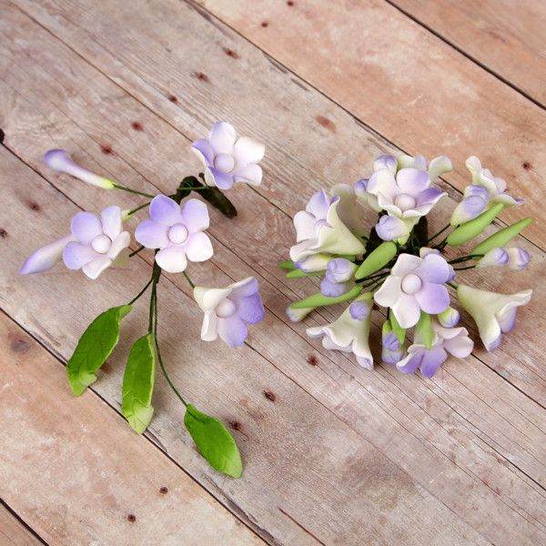 Asian Stephanotis Fillers Set- Lavender