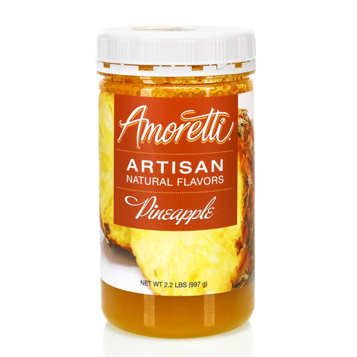 Natural Pineapple Artisan Flavor by Amoretti