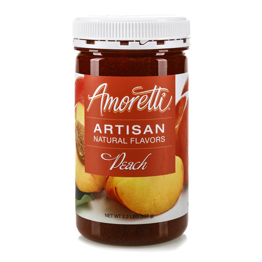 Natural Peach Artisan Flavor by Amoretti