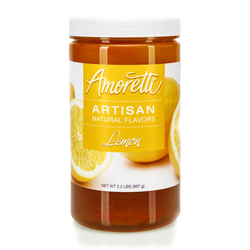 Natural Lemon Artisan Flavor by Amoretti