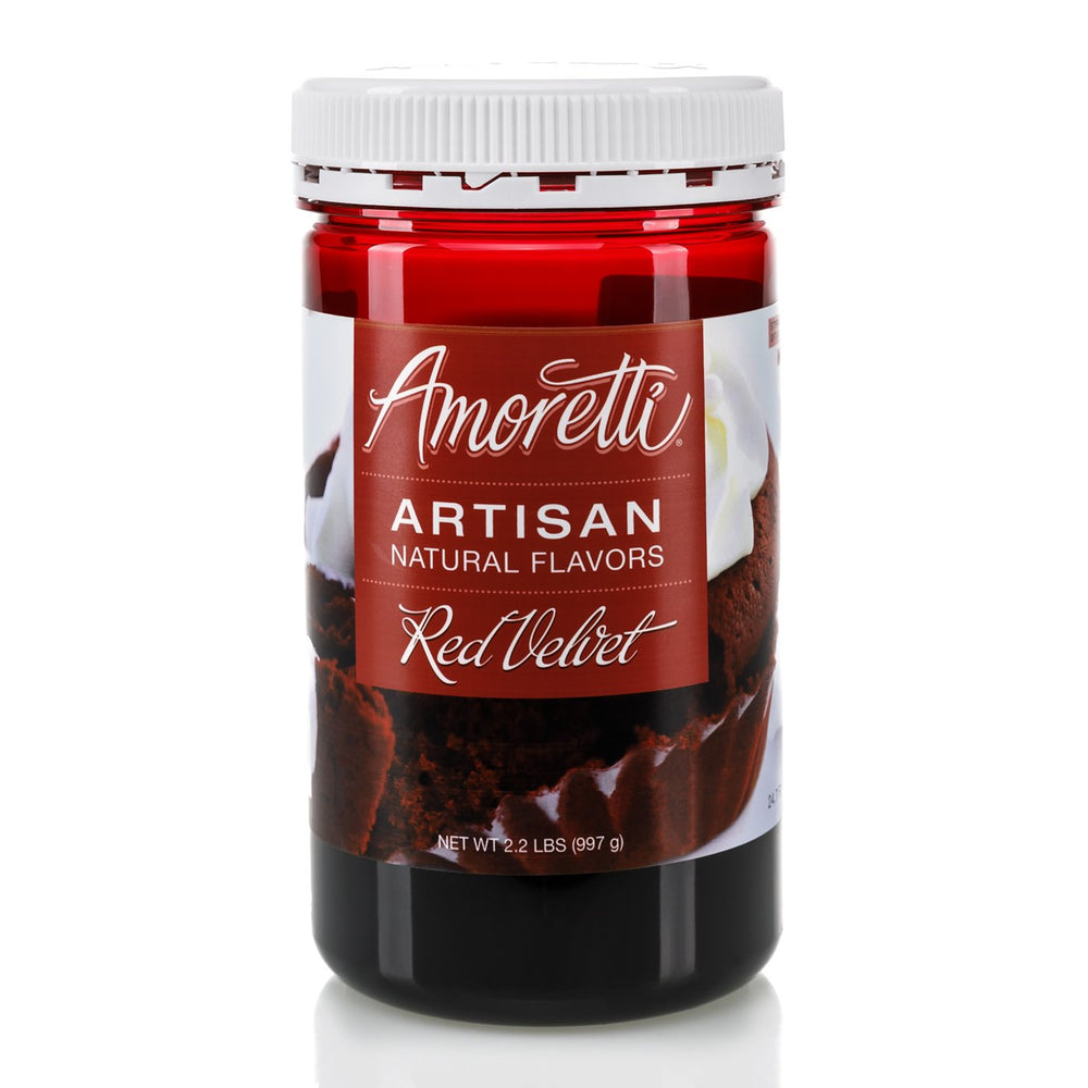 Natural Red Velvet Artisan Flavor by Amoretti