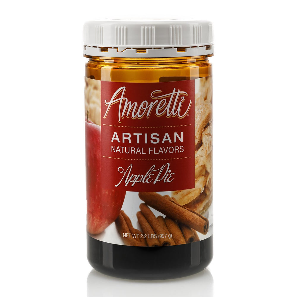 Natural Apple Pie Artisan Flavor by Amoretti