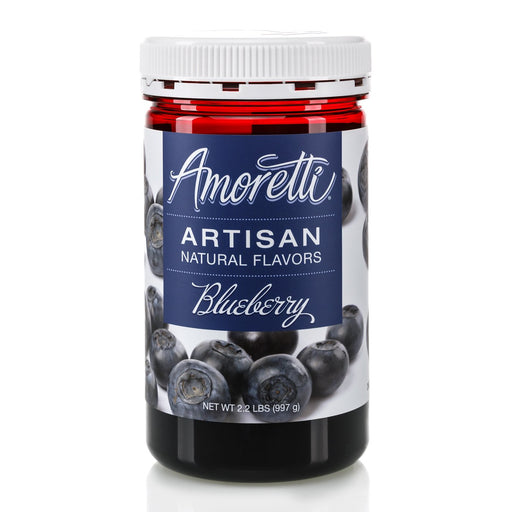 Natural Blueberry Artisan Flavor by Amoretti