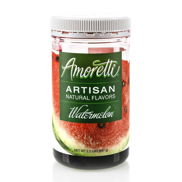 Natural Watermelon Artisan Flavor by Amoretti