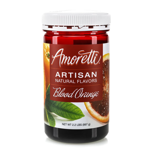 Natural Blood Orange Artisan Flavor by Amoretti