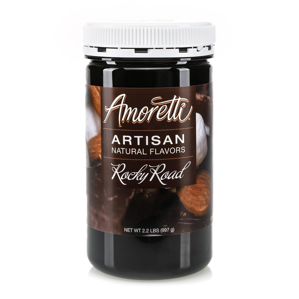 Natural Rocky Road Artisan Flavor by Amoretti