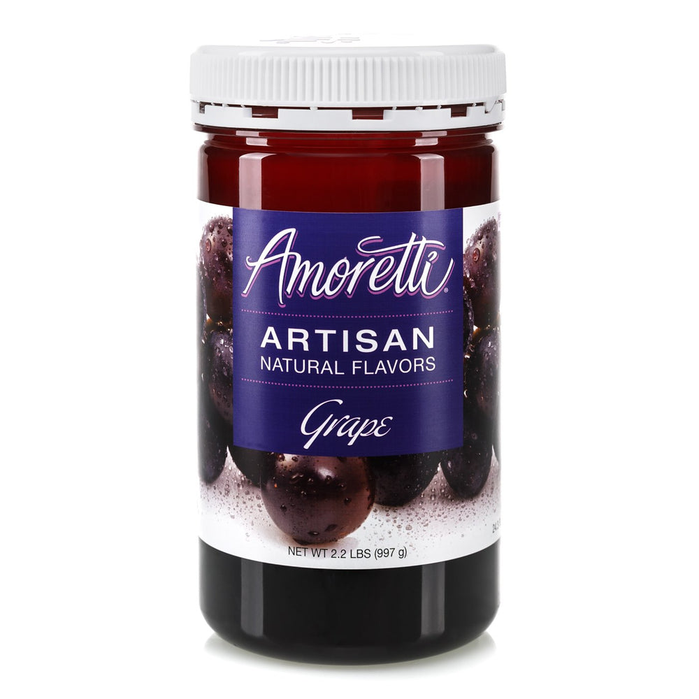 Natural Grape Artisan Flavor by Amoretti