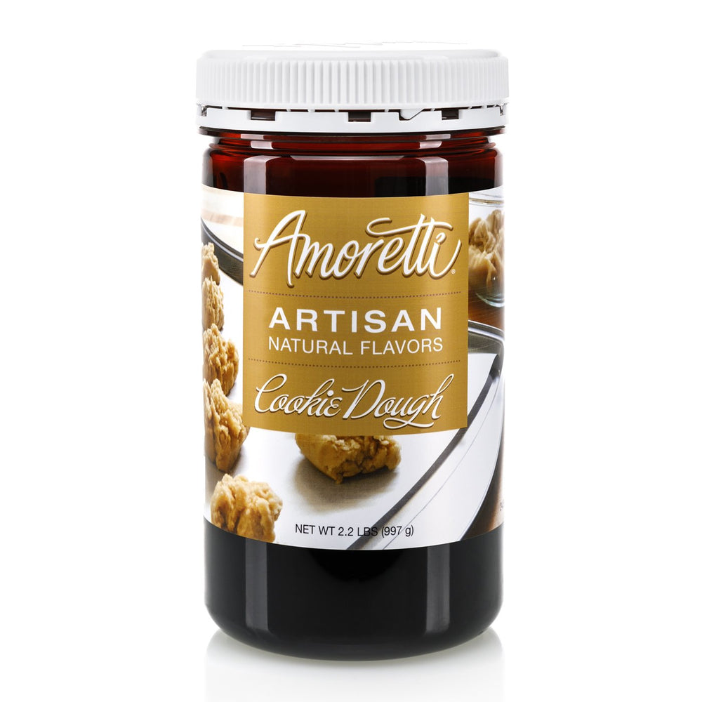 Natural Cookie Dough Artisan Flavor by Amoretti