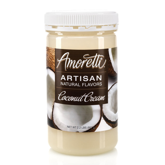 Natural Coconut Cream Artisan by Amoretti