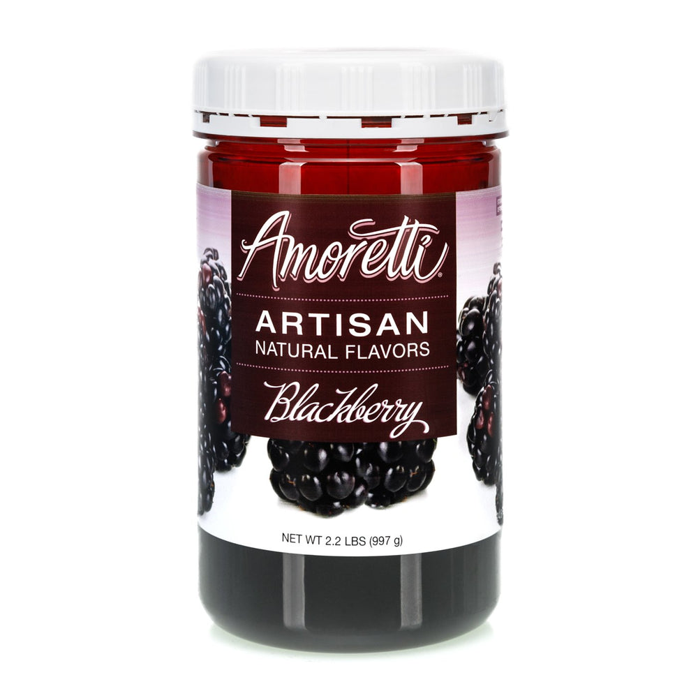 Natural Blackberry Artisan Flavor by Amoretti
