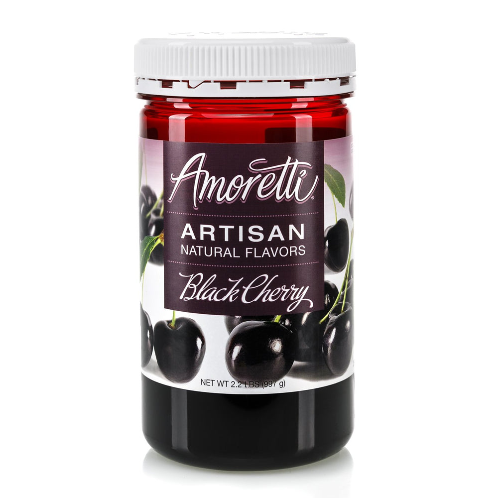 Natural Black Cherry Artisan Flavor by Amoretti