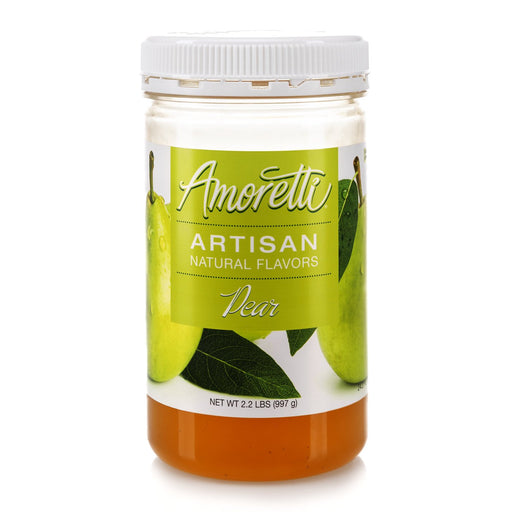 Natural Pear Artisan Flavor by Amoretti