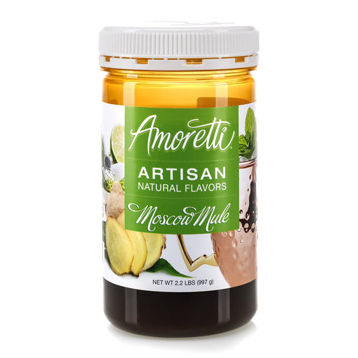 Natural Moscow Mule Artisan Flavor by Amoretti