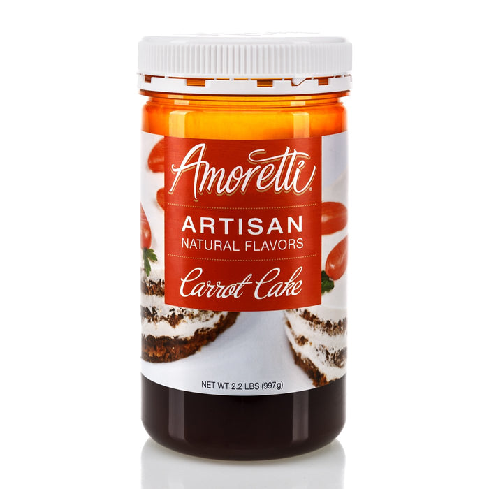 Natural Carrot Cake Artisan Flavor by Amoretti