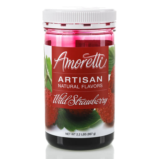 Natural Wild Strawberry Artisan Flavor by Amoretti