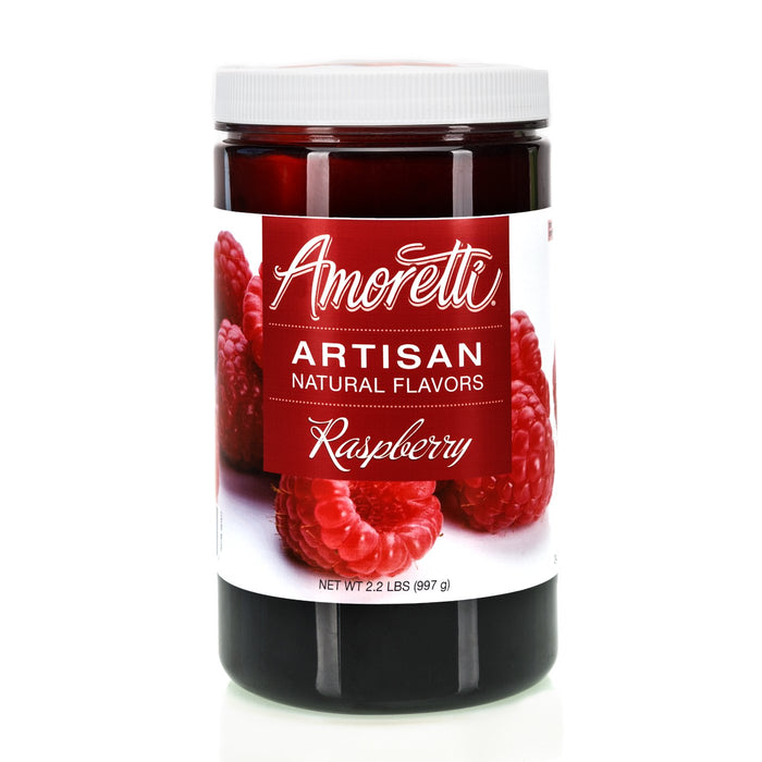 Natural Raspberry Artisan Flavor by Amoretti
