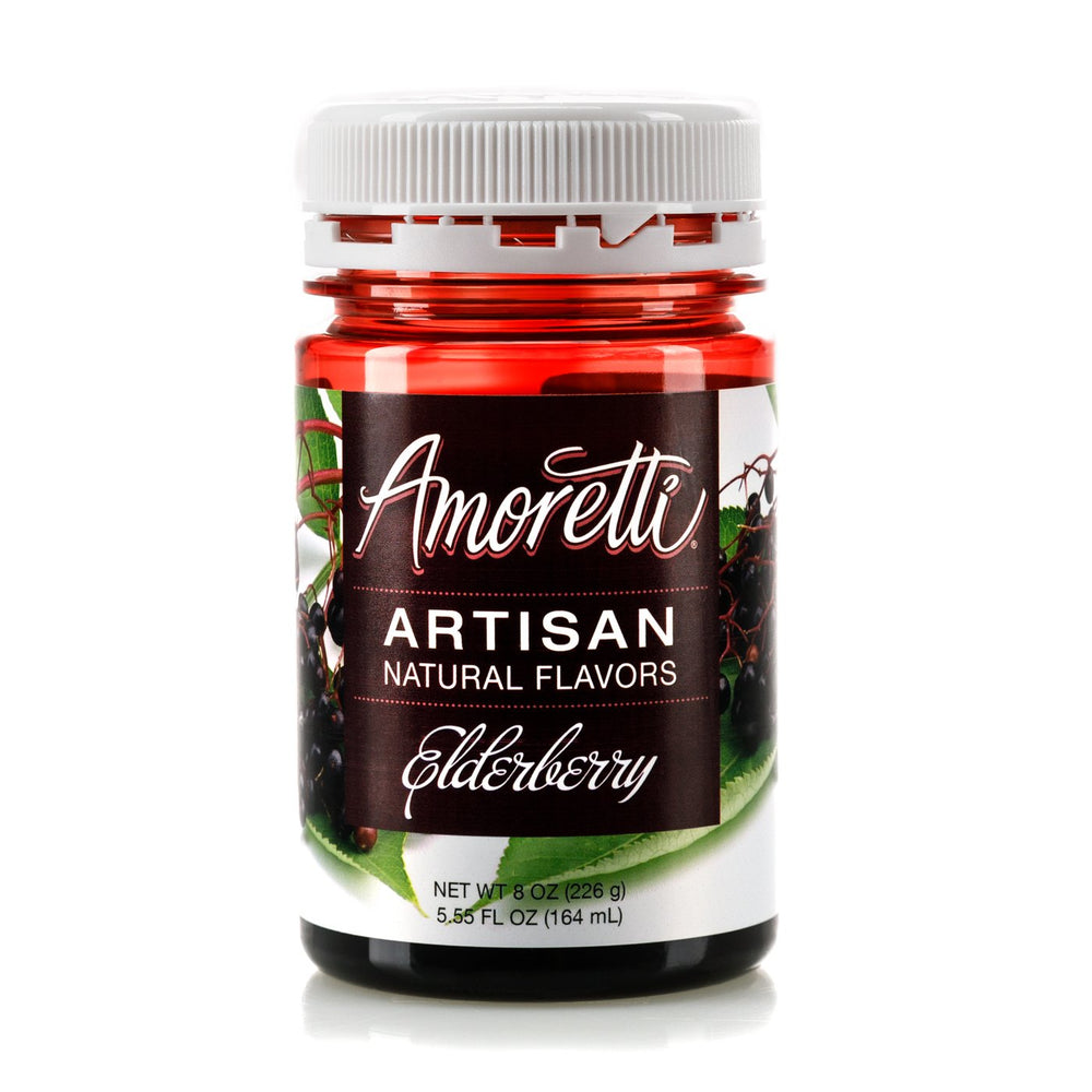 Natural Elderberry Artisan Flavor by Amoretti