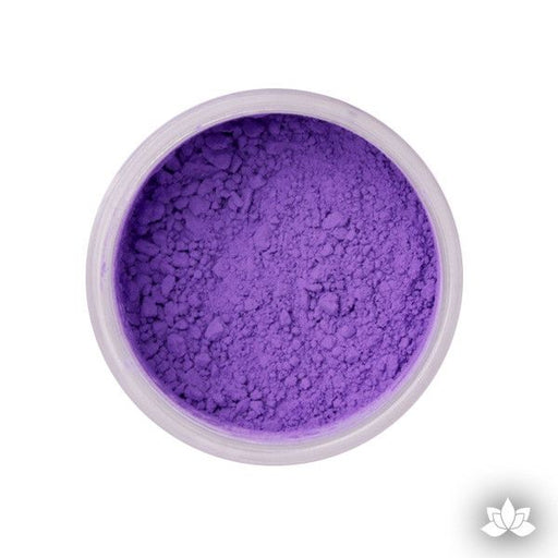 African Violet Petal Dust food coloring perfect for cake decorating & painting gumpaste sugar flowers.