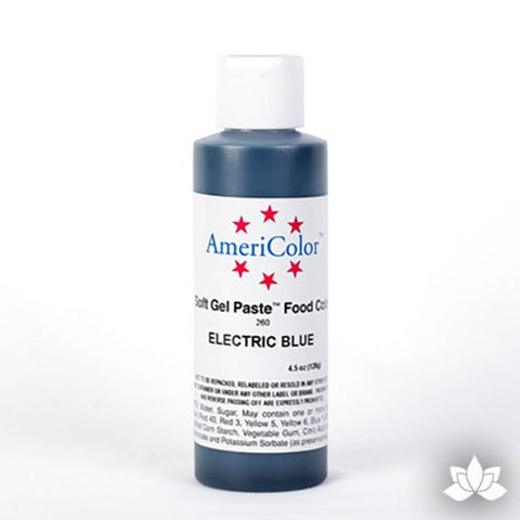 Electric Blue Soft Gel Paste 4.5 oz