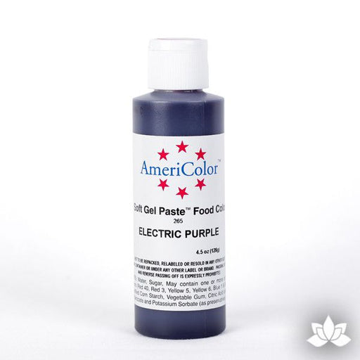 Electric Purple Soft Gel Paste 4.5 oz