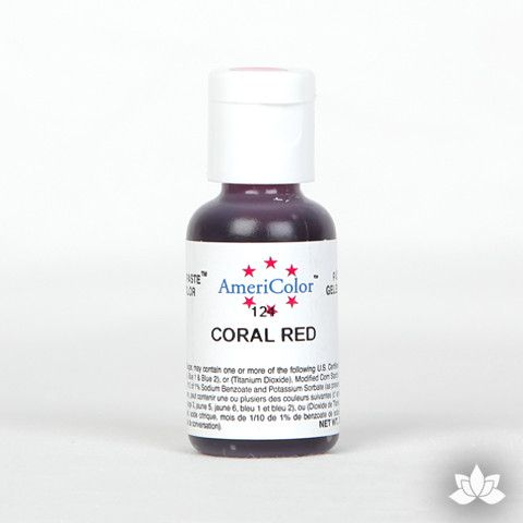 Coral Red Soft Gel Paste
