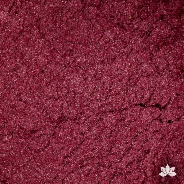Tulip Luster Dust colors for cake decorating fondant cakes, gumpaste sugarflowers, cake toppers, & other cake decorations. Wholesale cake supply. Bakery Supply. Antique Red Lustre Dust Color.