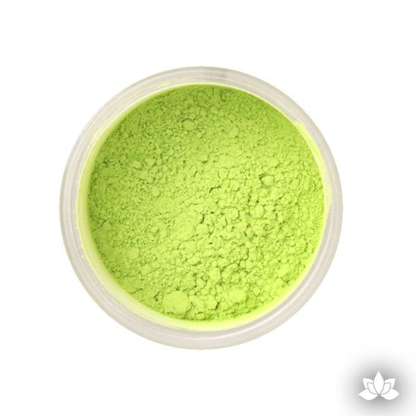 Apple Green Petal Dust color food coloring perfect for cake decorating & coloring gumpaste sugar flowers.