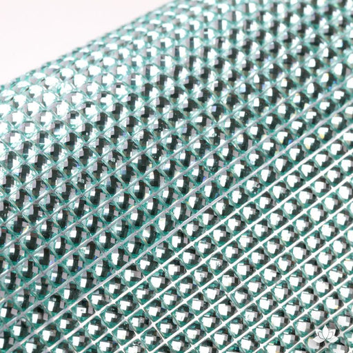 Aqua Glam Diamond Sticker cake wrap.  Perfect for cake decorating fondant cakes, cupcakes, cake drums.  Wholesale cake supply.
