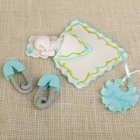 Sleepy Baby Boy Set - Blue