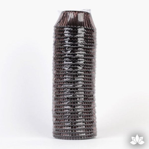 500 Foil Baking Cups - Brown (Sleeve)